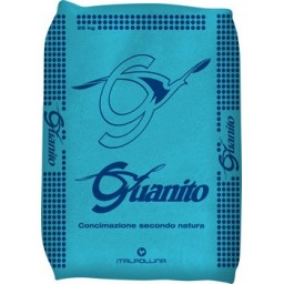 Engrais organique Guanito 6-15-3+2 en 25 kg