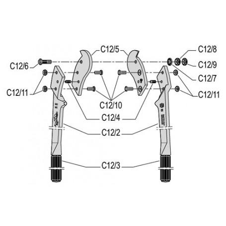 Coupe-câbles Felco C12
