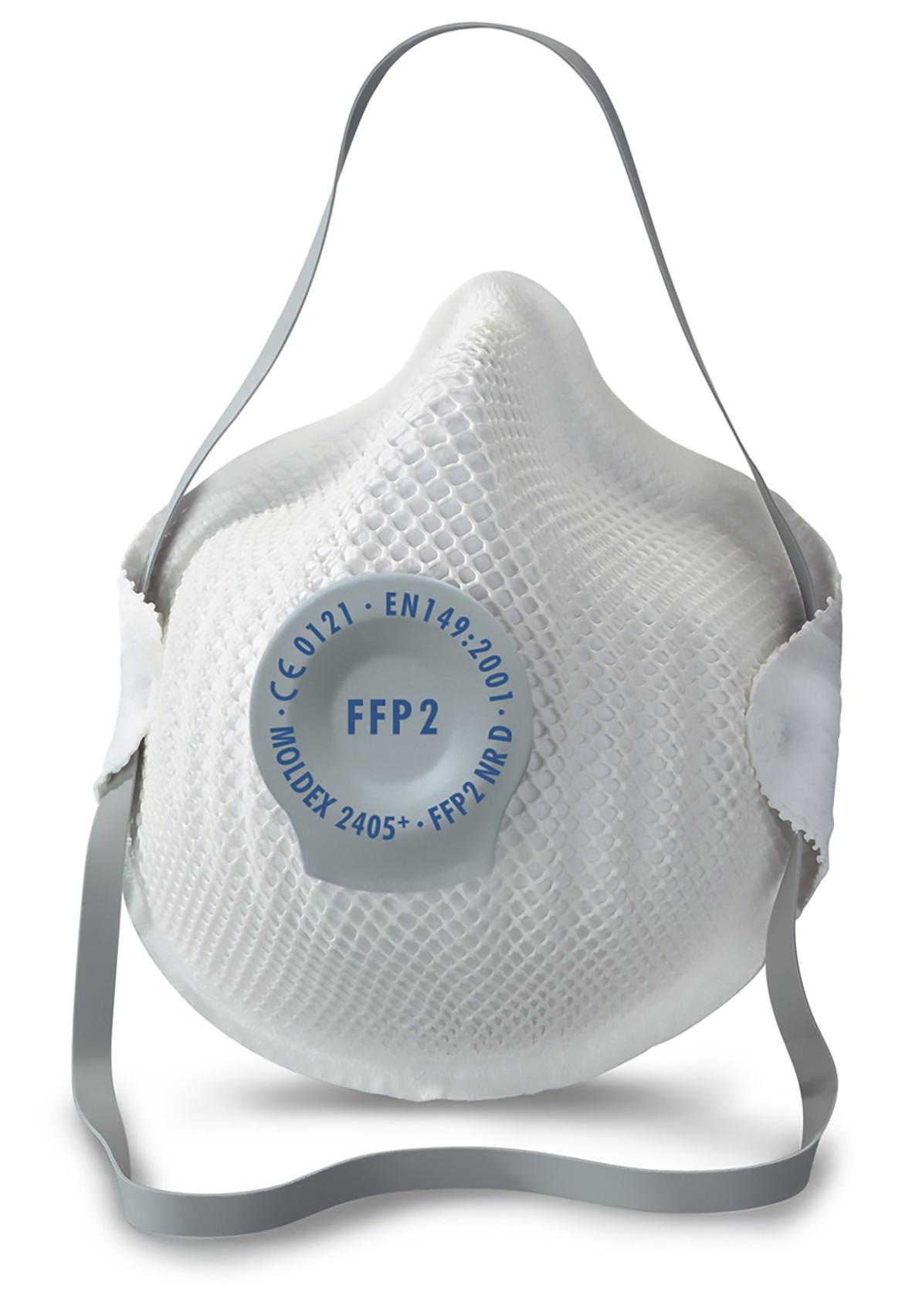 Masque jetable Moldex Classique FFP2 à valve - Matériel viticole sur Alsavit   31e441546ad9