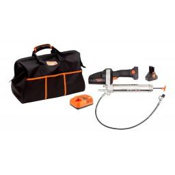 Kit pompe à graisse électrique 14,4 V Bahco