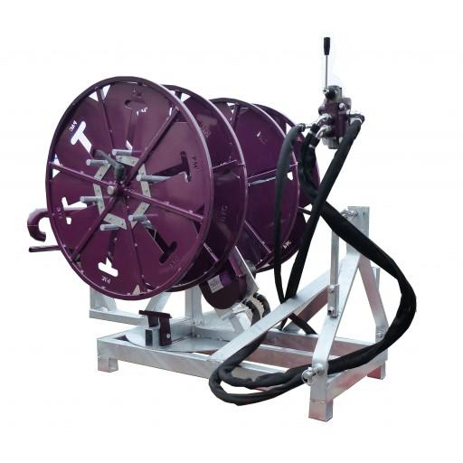 Enrouleur-dérouleur à fils hydraulique