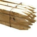 Tuteurs en acacia 33 x 33 mm