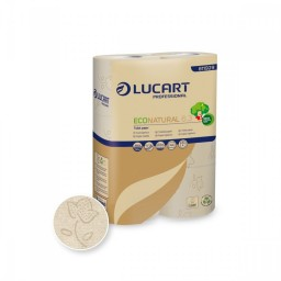 Papier toilette Lucart Eco Natural