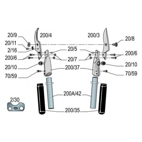 Ébrancheur Felco 200A-60