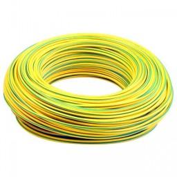 Câble électrique jaune/vert