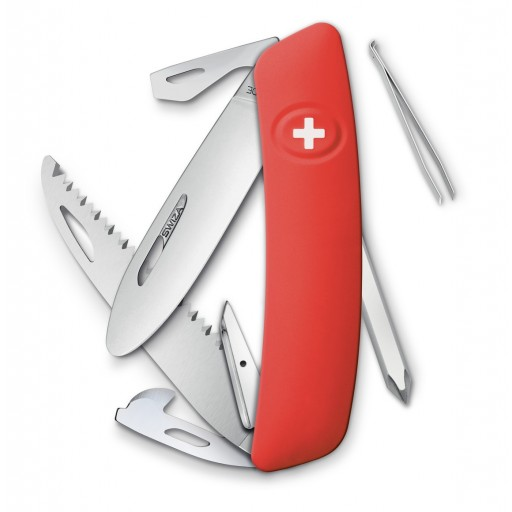 Couteau suisse Swiza D06 - Rouge