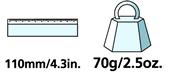 Caractéristiques techniques du couteau de taille Felco 1.92 00