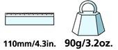 Caractéristiques techniques de la serpette de taille lourde Felco 1.93 00
