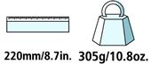 Caractéristiques techniques de la cisaille à onglons Felco 50