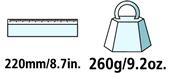 Caractéristiques techniques de la cisaille à onglons Felco 51