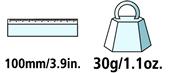 Caractéristiques techniques de la pierre à affûter Felco 902