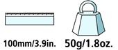 Caractéristiques techniques de la pierre à affûter Felco 903