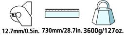 Caractéristiques techniques du coupe-câble Felco C112
