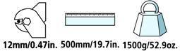 Caractéristiques techniques du coupe-câble Felco C12