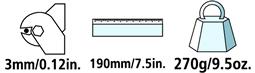 Caractéristiques techniques du coupe-câble Felco C3