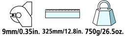 Caractéristiques techniques du coupe-câble Felco C9
