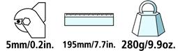 Caractéristiques techniques du coupe-câble Felco CDO